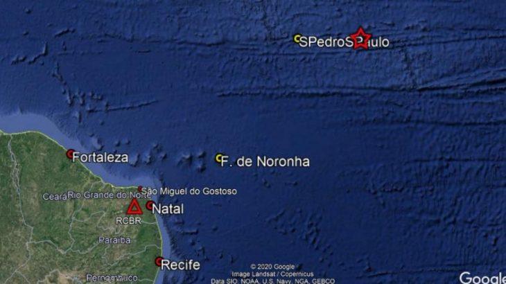 Segundo a Rede Sismográfica Brasileira, há possibilidade de novos terremotos nos próximos dias, mas o risco de tsunami está descartado (Reprodução/Google Maps)