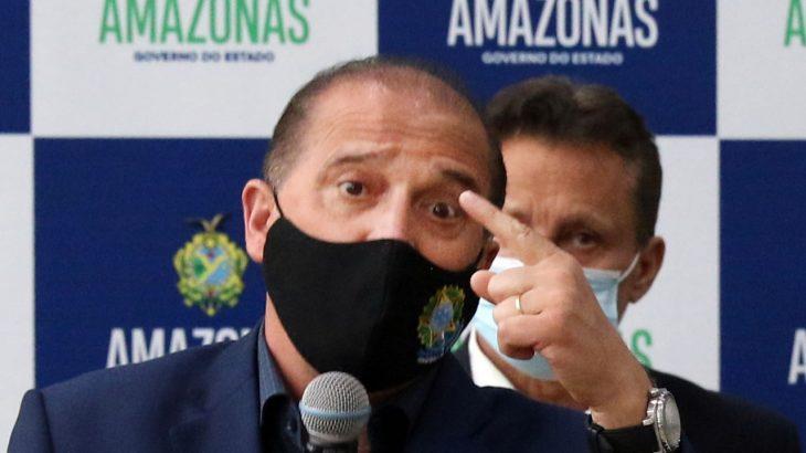 O ministro da Cidadania está na capital amazonense cumprindo agenda governamental (Ricardo Oliveira/Revista Cenarium)