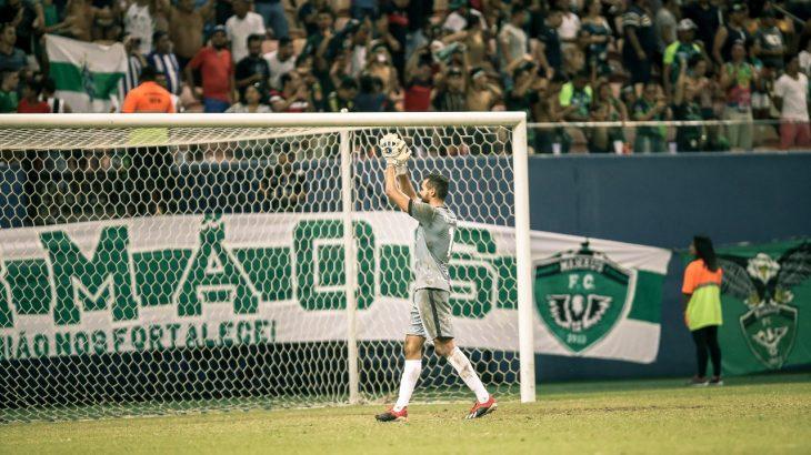 Jonathan, titular absoluto do Gavião do Norte, conta que acredita nos garotos nas bases dos clubes locais e que eles estão sendo moldados sob influência do Manaus FC (Divulgação)