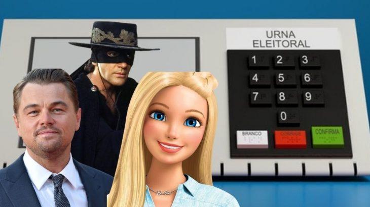 De 'Barbie' a 'Zorro', a REVISTA CENARIUM listou os candidatos mais curiosos que podem se identificar com prenomes, sobrenomes e até mesmo nome abreviado (Montagem/ Revista Cenarium)