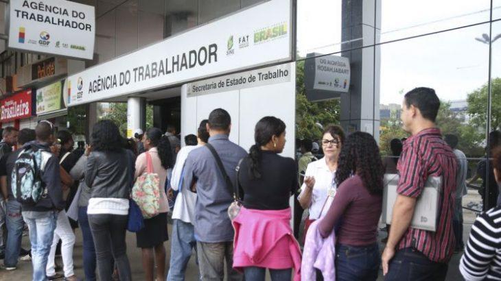 Em maio, a população desocupada era de 10,1 milhões, número que passou para 12,9 milhões em agosto (Reprodução/ Agência Brasil)