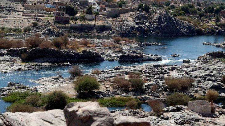 Vista do rio Nilo em Assuã, no Egito 21/02/2020 (Reprodução/ REUTERS/Amr Abdallah Dalsh)