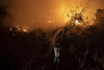 Queimadas no Pantanal - Foto: Mauro Pimentel / AFP