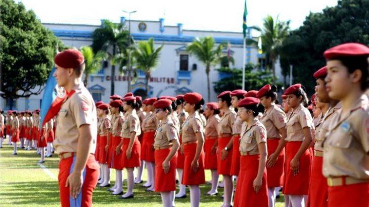 Colégio Militar de Manaus abre processo seletivo para ingresso de alunos em 2021