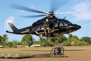 Sistema de monitoramento remoto detectou exploração ilegal (© Polícia Federal / Divulgação)