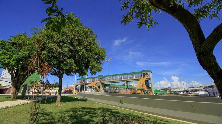 Ações de paisagismo e urbanismo mudarão, pelo menos, 35 áreas de Manaus (Reprodução/Semcom)