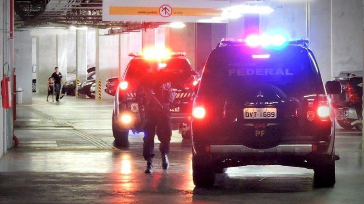 Operação Estanco investiga grupos criminosos envolvidos em fornecimento, transporte, comércio e distribuição de cigarros introduzidos clandestinamente no Brasil (Divulgação/ PF)