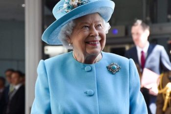 Rainha Elizabeth II, durante evento em Londres (Reprodução/Internet)