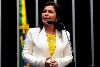 O livro da escritora amazonense Michelle Vale, aborda a trajetória política de Eunice Michiles, a primeira senadora do Brasil. (Reprodução/Internet)