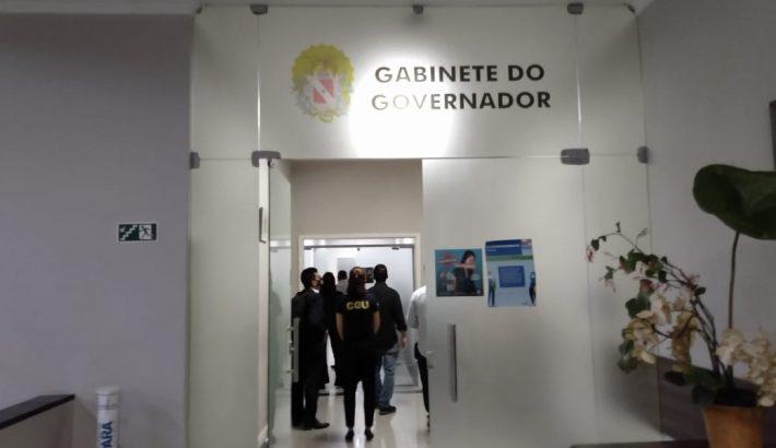 Secretário de Transportes do Pará, Antônio de Pádua, e Desenvolvimento Econômico, Mineração e Energia, Parsifal Pontes, foram presos durante a ação (Reprodução/Internet)