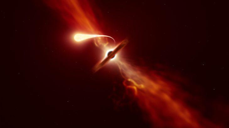 Fenômeno foi detectado por equipamentos do Observatório Europeu do Sul. (ESO/M. Kornmesser / Divulgação)