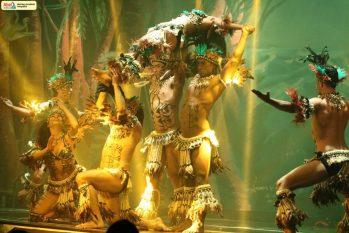Na apresentação, os bailarinos contam um pouco das lendas e histórias amazonenses. Foto: Divulgação