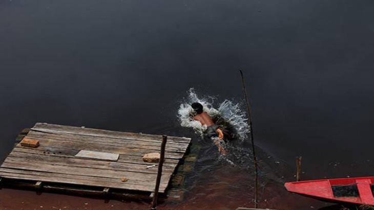 Banho no Rio Negro