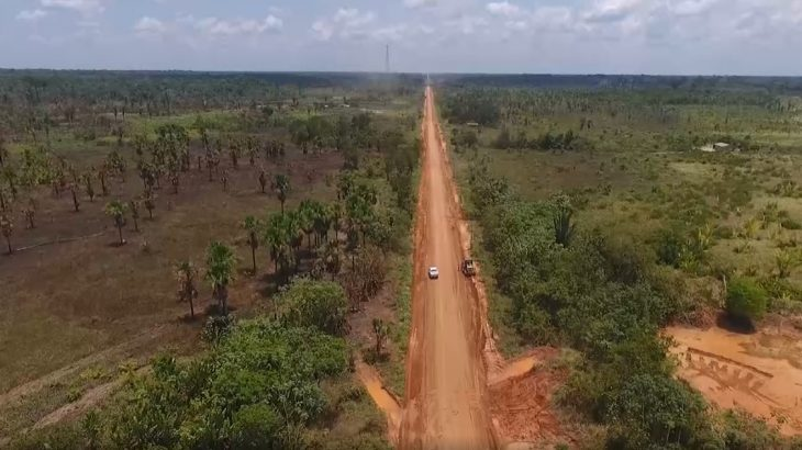 Recomendação do MPF pede que o Ibama não promova discussões sobre o licenciamento ambiental da estrada antes de estudos completos na rodovia (Divulgação)