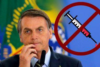 Com problemas, que não são poucos, na agenda governamental, o presidente do Brasil decidiu fazer de uma política pública de saúde, o palco para destilar sua aversão à ciência (Reprodução/Revista Cenarium-Samuelknf)