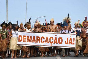 O julgamento é alvo de pressões de setores do agronegócio e da mineração. (Evaristo Sá/AFP)