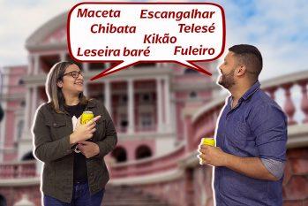 Linguajar amazonense é peculiar por trazer consigo expressões que somente o povo amazônida compreende (Arte: Samuelknf/ Revista Cenarium)