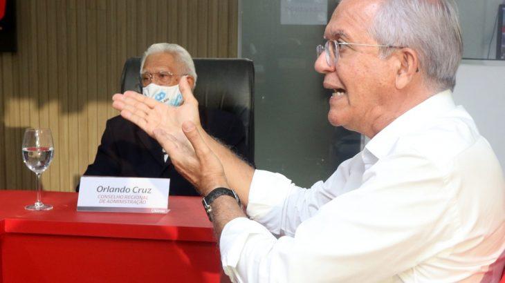 Romero Reis, durante sabatina técnica, realizada na sede da Revista Cenarium, nesta sexta-feira (Ricardo Oliveira/Revista Cenarium)