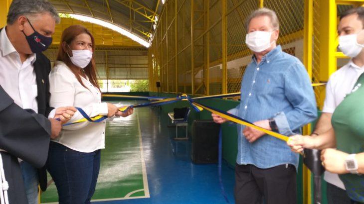 Reinauguração do centro esportivo irá propiciar um melhor atendimento para cerca de 120 pessoas com deficiência (PcD) (Bruno Pacheco/Revista Cenarium)
