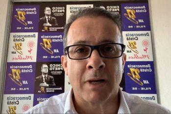 O candidato à Prefeitura de Manaus cancelou agenda de campanha e está cumprindo isolamento social em casa (Reprodução/Facebook)