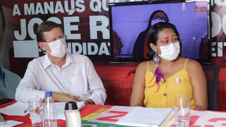 O lançamento das propostas foi realizado no comitê central da campanha, (Reprodução/Internet)