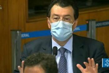 Senador Eduardo Braga vai continuar o tratamento da Covid-19 no hospital paulista (Reprodução)