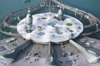 Projeto de porto para espaçonaves turísticas (Foto: Divulgação)