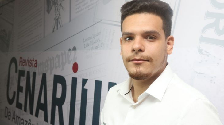 O estreante nas eleições tenta resgatar, por meio de um mandato na Câmara Municipal de Manaus (CMM), as heranças políticas deixadas pelo pai, ex-deputado estadual do Amazonas, Eliúde Bacelar (Revista Cenarium/ Ricardo Oliveira)