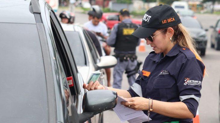 Dirigir sem CRLV é a infração mais cometida nos últimos nove meses. (Arquivo/Detran)
