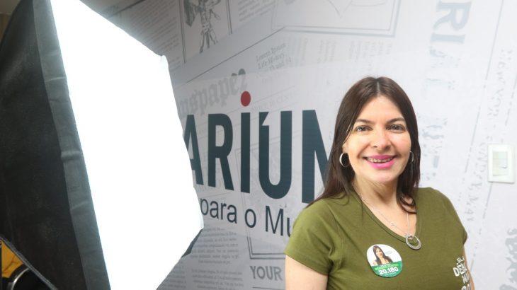 Delegada de polícia, Débora Mafra (PSC), Candidata a vereadora de Manaus (Revista Cenarium/Ricardo Oliveira)