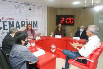 Romero Reis destaca plano para alavancar a economia de Manaus. (Revista Cenarium/Ricardo Oliveira)
