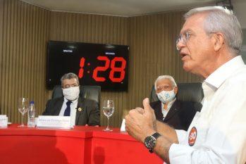 Candidato Romero Reis responde perguntas de especialistas em Sabatina Técnica (Revista Cenarium)