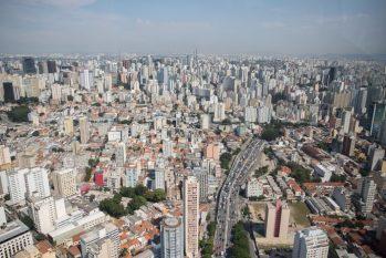 Imagem aérea da capital paulista, uma das mais afetadas pelo acumulo do IGP-M. No País, alta é de 20,93% em 12 meses (Secom/ Governo de São Paulo)