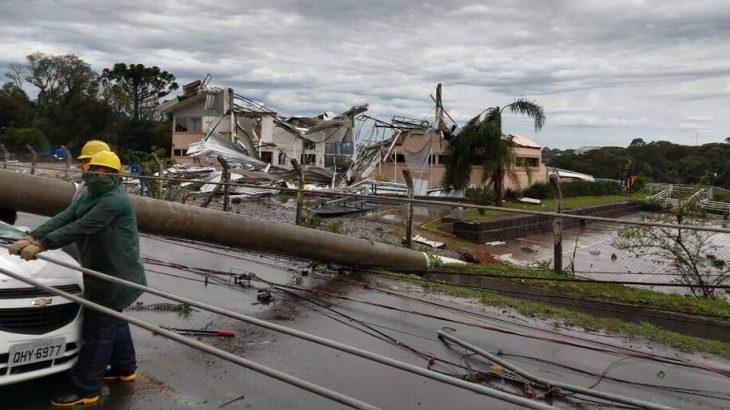 Em nota divulgada no domingo, a Marinha ressaltou que os ventos provocados pelo ciclone poderão ocasionar agitação marítima com ondas, em alto-mar, com alturas de até 4,5 metros (Reprodução/ Internet)