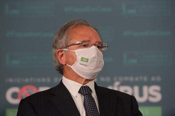 Ministro da Economia, Paulo Guedes (Reprodução)