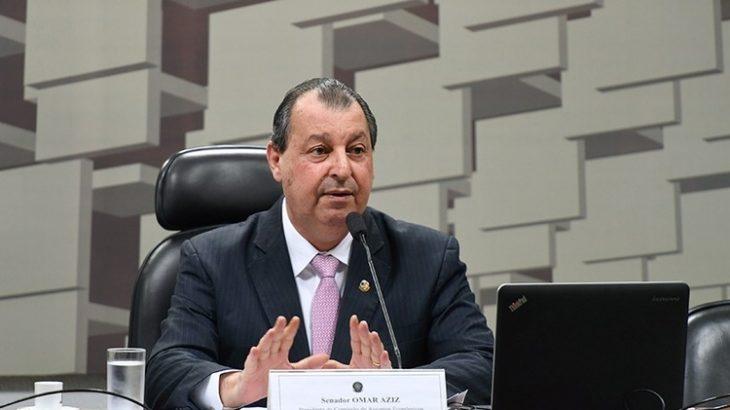 Omar Aziz usou as redes sociais para ressaltar a importância da iniciativa (Edilson Rodrigues/Agência Senado)