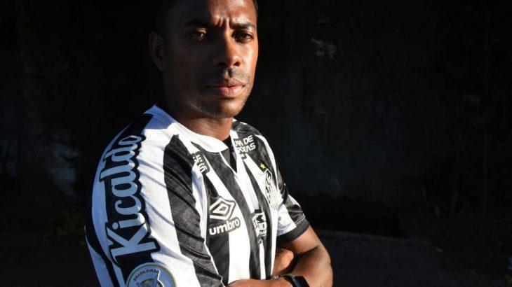 Jogador permaneceu apenas seis dias na equipe (Divulgação/ Santos FC)
