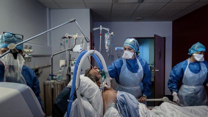 Das 20 mil pessoas que deram entrada nos hospitais na semana passada, aproximadamente 3 mil necessitaram de tratamento intensivo. (AFP/Reprodução)