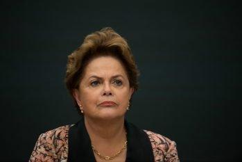 Dilma foi ironizada por Bolsonaro nessa segunda-feira, 28, por ter sofrido tortura durante o período que ela foi presa, na década de 1970, na ditadura militar (Mario De Fina/NurPhoto/Getty Images)