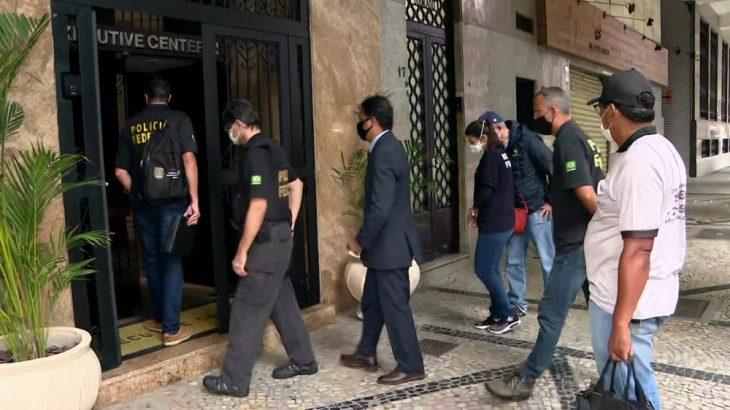 A Polícia Federal cumpre mandados de busca e apreensão contra Júlio Lopes, ex-deputado federal e ex-secretário de Transportes do estado, em mais uma etapa da Lava Jato no Rio (Reprodução/ Internet)
