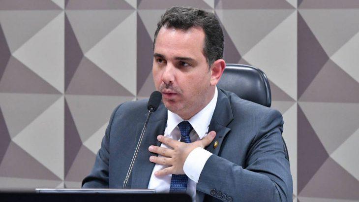 Com apoio dos Progressistas Rodrigo Pacheco amplia bloco de apoio para a presidência do Senado (Reprodução)