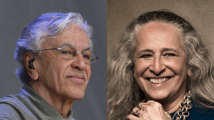 Caetano Veloso e Maria Bethânia se pronunciaram sobre as fake news por meio das redes sociais (Arte: Guilherme Oliveira/ Revista Cenarium)