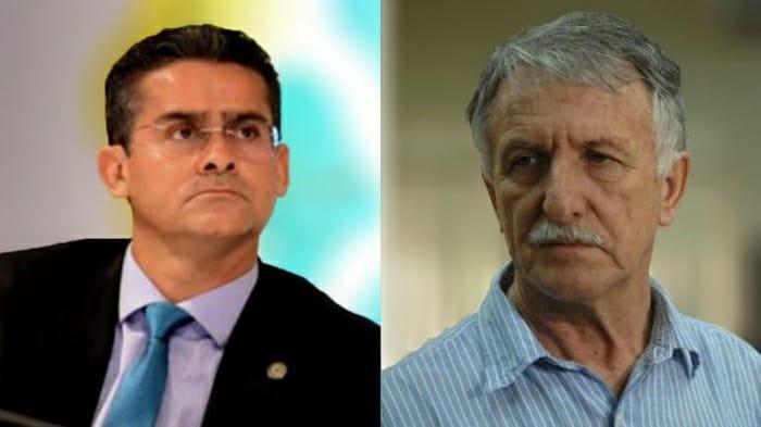 David Almeida e Antonio Stroski: nomeação de investigado por desmatamento ilegal para Semma (Reprodução/Internet)