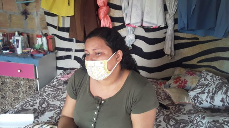 The indigenous Eliane Kanamari, recently diagnosed with Covid-19, reported that she has had symptoms for more than a week (Divulgation)