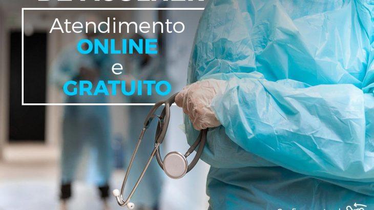 Atendimento de diálogo psicoterapêutico on-line e gratuito, onde buscam, de forma voluntária, contribuir para o alívio emocional das pessoas que foram afetadas psicologicamente com a pandemia de Covid-19 (Divulgação)