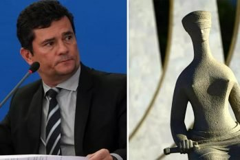 Encurralado por gravações que revelam conversas nada republicanas, o ex-juiz Moro tenta reverter desgaste depois das revelações da Vaza Jato (Reprodução/Agência Brasil)