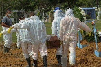 Brasil registra maior média móvel de mortes por Covid-19 de toda a pandemia do novo coronavírus. Foto: Marcio James