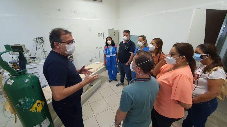 Medidas já adotadas em Itacoatiara, a 269 km de Manaus, serão incorporadas ao plano macro em elaboração para o enfrentamento da Covid-19 em todo o interior (Foto: Rodrigo Santos/Secom)
