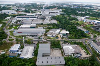 Zona Franca de Manaus (ZFM) vista de cima (Reprodução/Internet)
