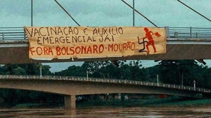 O presidente esteve em Rio Branco nessa quarta-feira para ver a calamidade da cidade por conta da cheia (Reprodução/Internet)